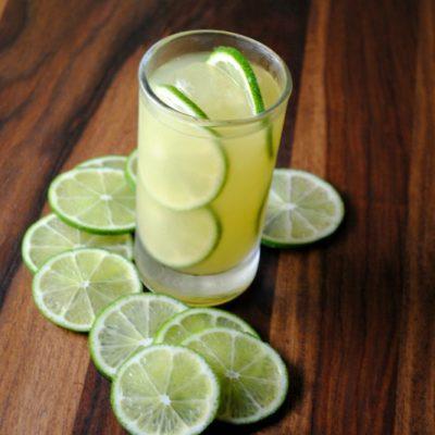 Coctel de Piña y Limón con Tequila