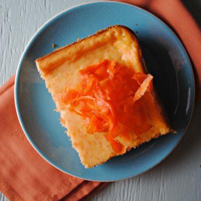 Cheesecake de Zanahoria